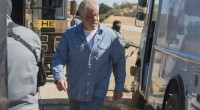 Clay Morrow in prison blues. (Photo courtesy of FX)